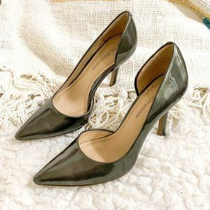 Bcbgeneration pumps in pewter patent size 6.5